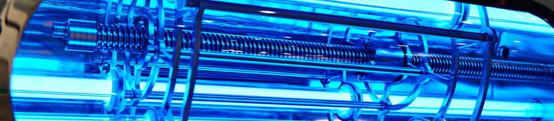 Blue UVC lighting technology