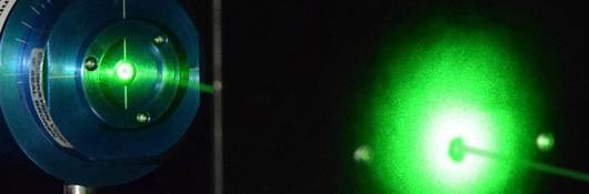 Optical radiation green light