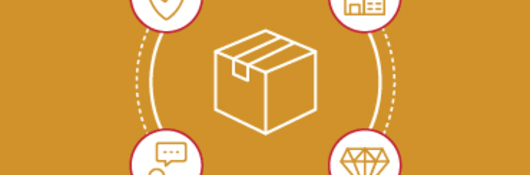 a box around 4 icons representing shipping